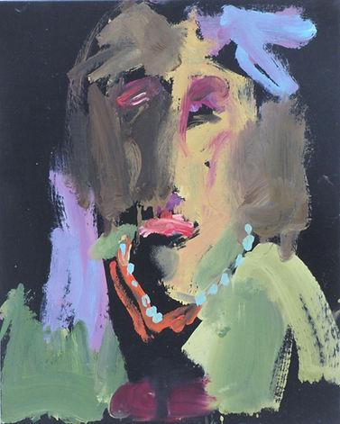 sophe bartlett artist figure portrait pearls east hampshire