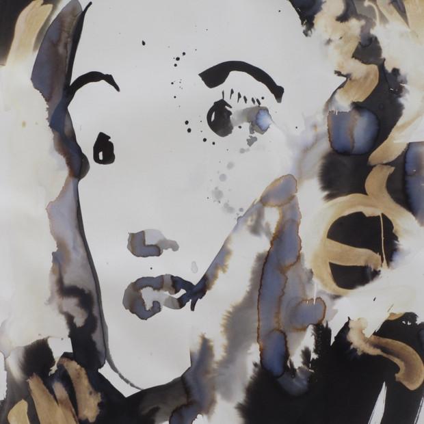 Greta  Ink on Paper 42 x 60 cm