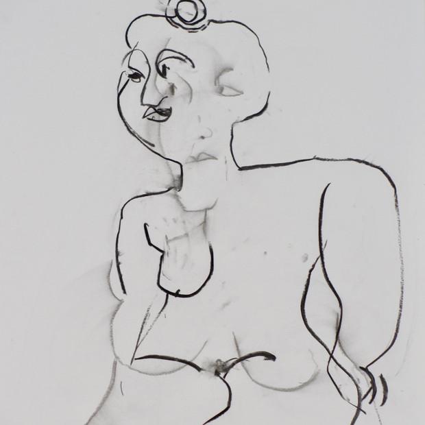 Daytime Monique III Charcoal 42 x 60 cm