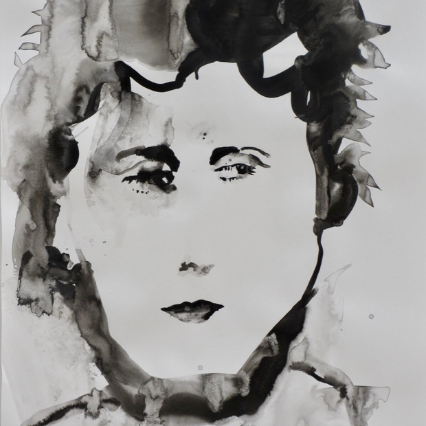 Helga III Ink on Paper  42 x 60 cm