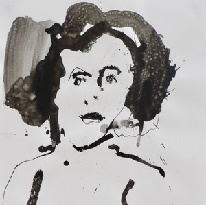 Helga     Ink on paper      42 x 60 cm