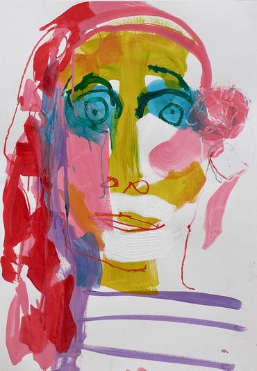sophie bartlett artist abstract figure portrait