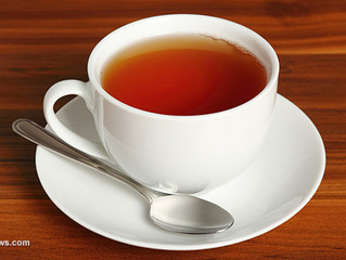 Herbal tea can help with indigestion and insomnia