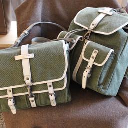THE BRIDGE messenger and backbag