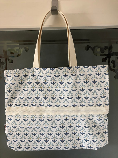 Margaret Bags - Vario Stoff Shopper Blume