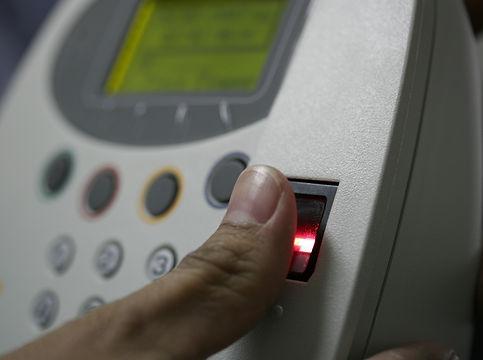 Biometrics Fingerprint reader