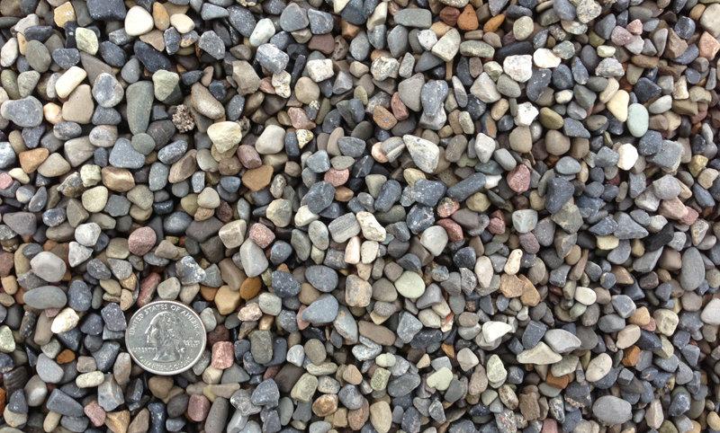 """3/8"""" pea stone"""