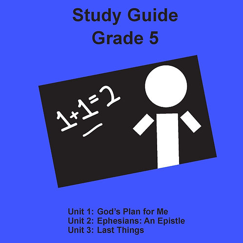 Children's Bible Curriculum Grade 5
