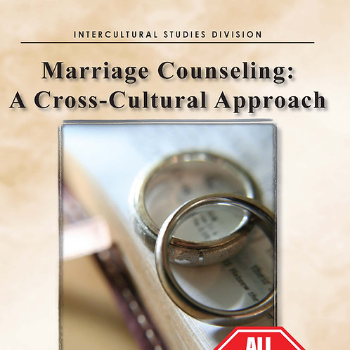 Marriage Counseling: A Cross-Cultural Approach