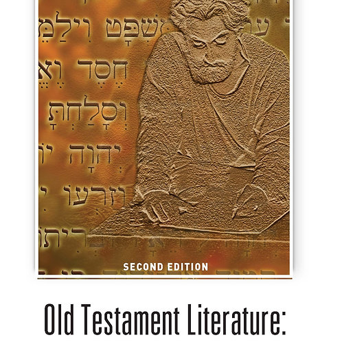 Old Testament Literature: His Story