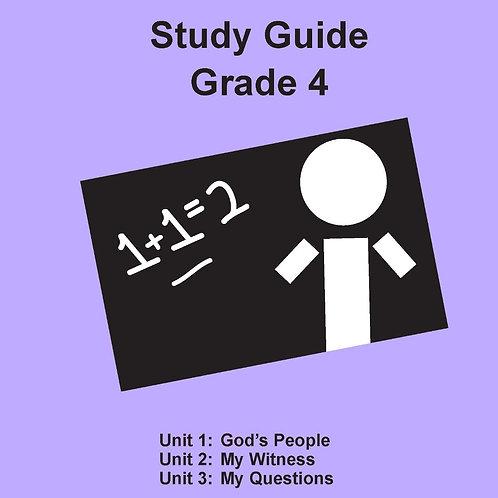 Children's Bible Curriculum Grade 4