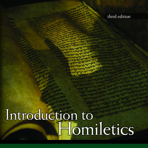 Introduction to Homiletics