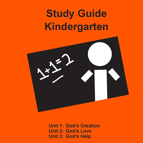 Children's Bible Curriculum - Kindergarten