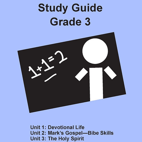 Children's Bible Curriculum Grade 3