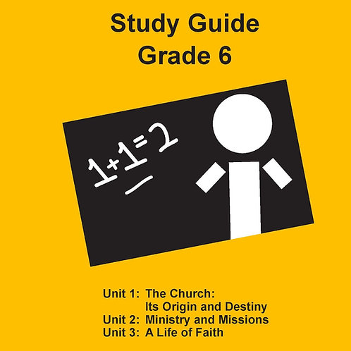Children's Bible Curriculum Grade 6