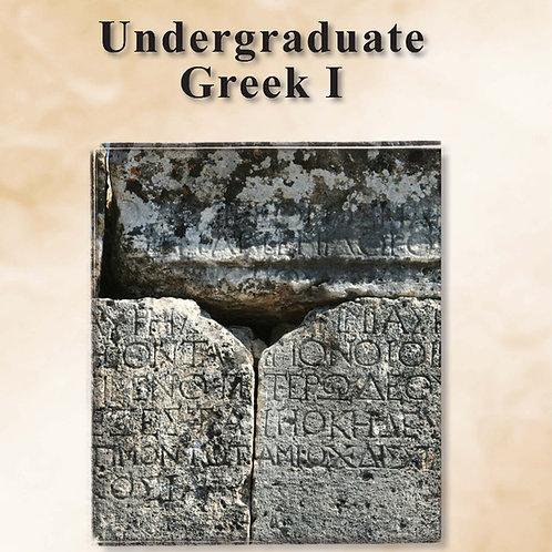 Undergraduate Greek 1
