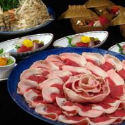 ボタン鍋(猪肉)
