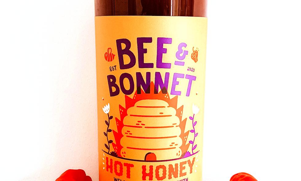Bee & Bonnet | Hot Honey | 1ltr Catering Bottle