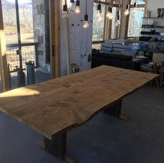 Large table with handicap accessible tab