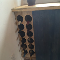 One always needs a wine rack