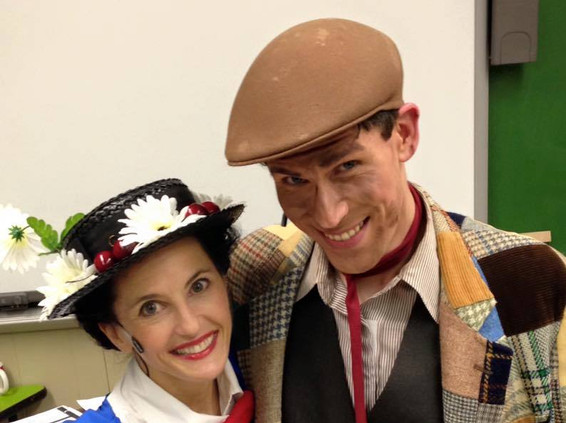 """""""Mary Poppins"""" - Gas Lamp Players"""