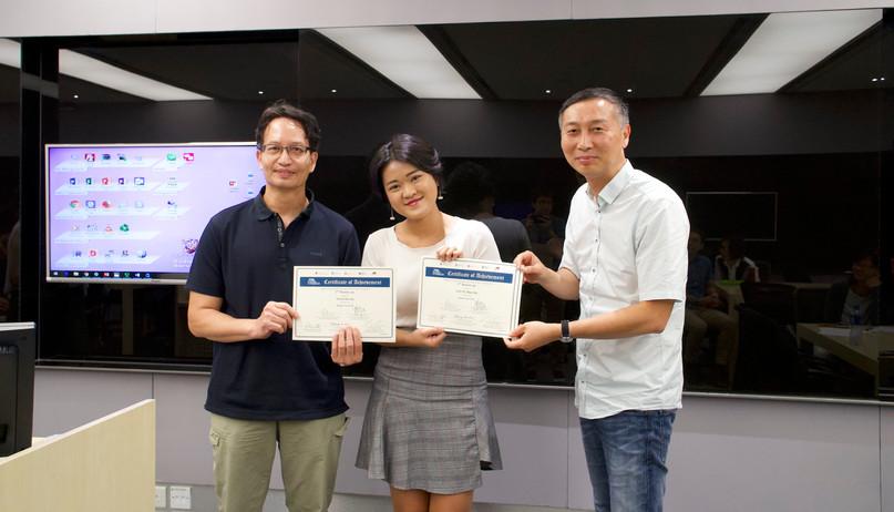 "2nd Runner-up Team: ""Thank You TVB"" @CityU"