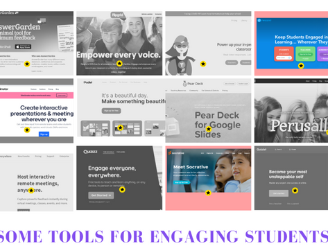 12 tools for engaging students during teacher presentations in the  group space