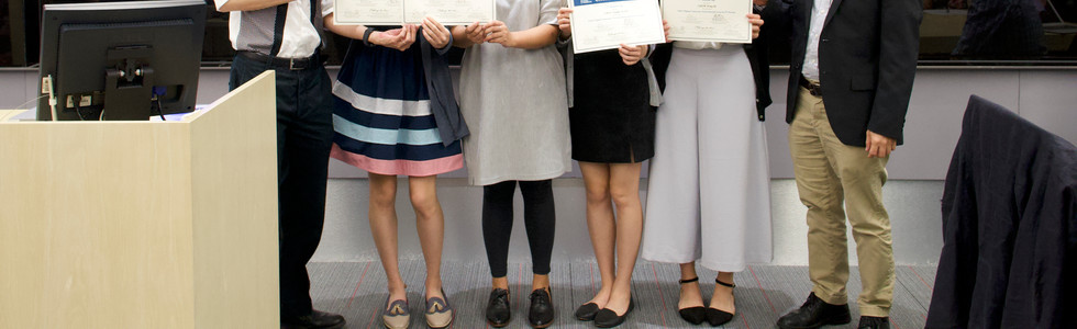 """1st Runner-up Team: """"PolyU Flipped Classroom: Environmental Issues in OT Practice"""" @PolyU"""