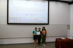 Distinguish Award - 1st Runner-up