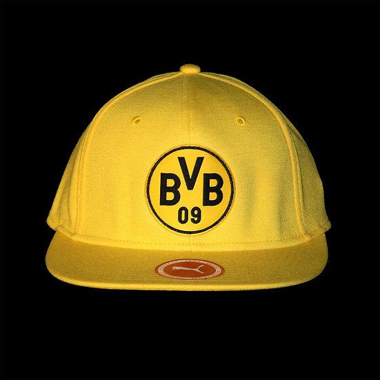 021371 01 BVB Stretchfit Logo Cap Cyber