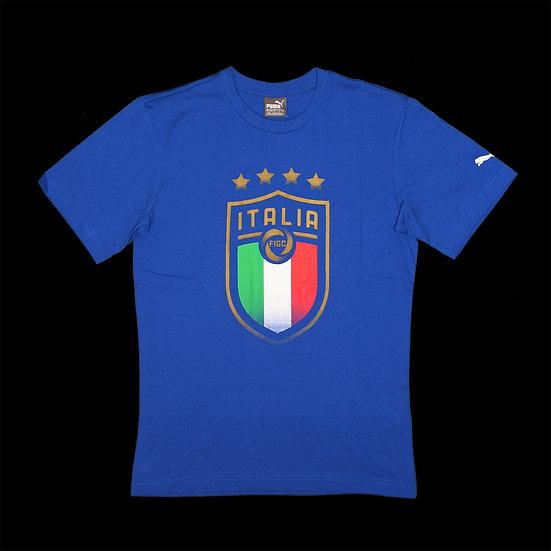 752613 01 FIGC Italia Badge Tee