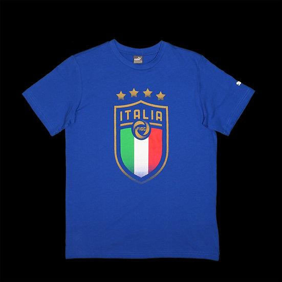 752869 01 FIGC Italia Badge Tee Jr