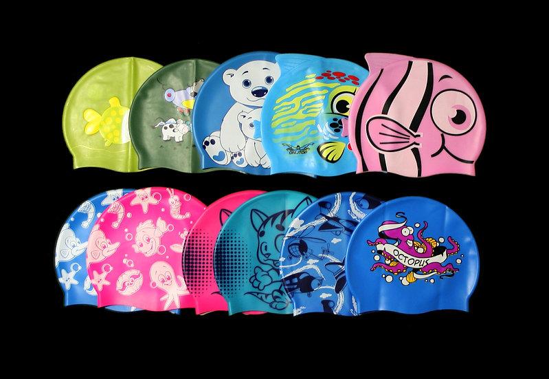 Шапки для плавания детские