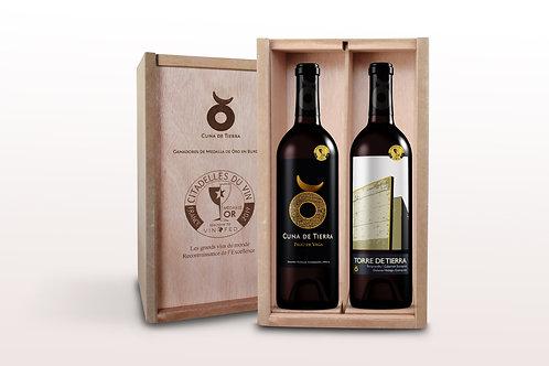Caja Citadelles du Vin (2 botellas)