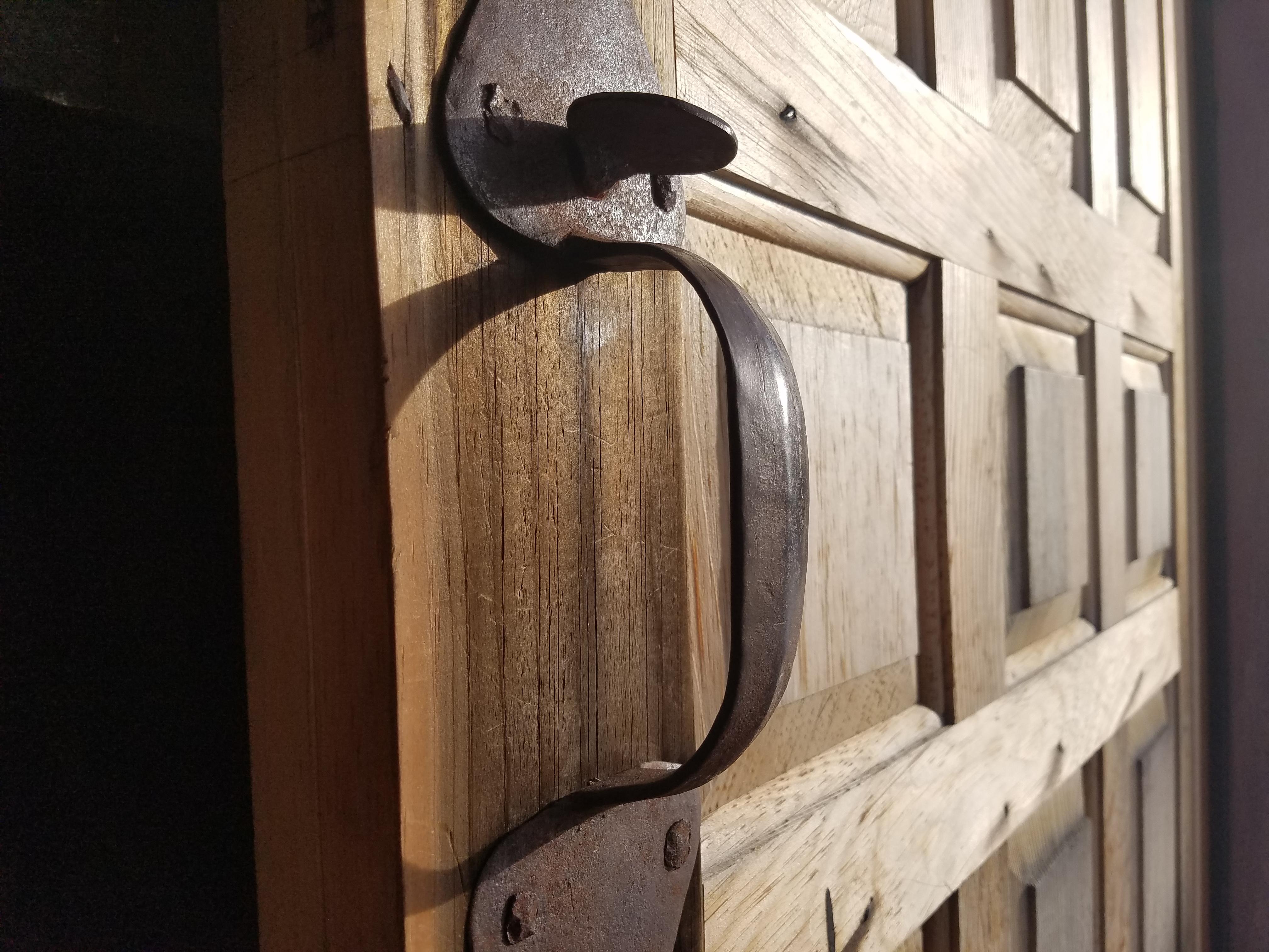 Hand Planed Door