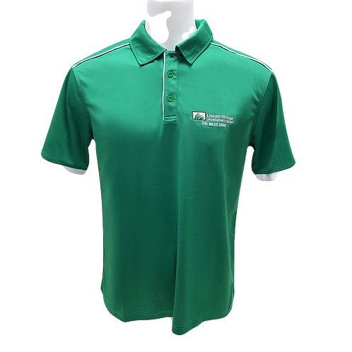 Closeout - Men's TMG Green Polo Shirt