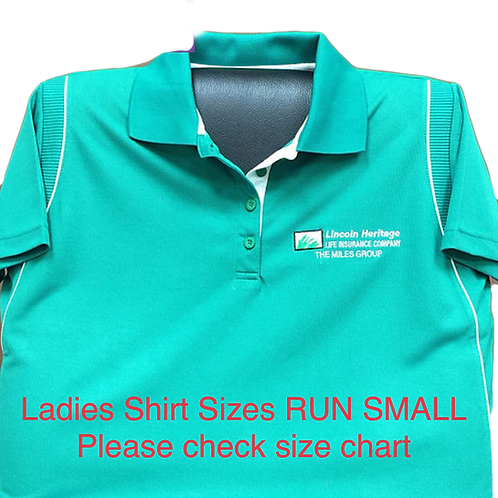 Ladies TMG Green Field Shirt
