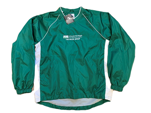 Green and White TMG Pullover