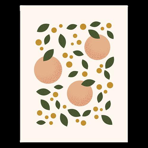 Peaches 11 x 14 Print