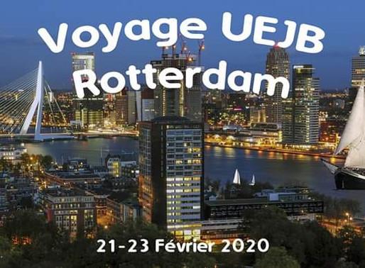 Week-end rotterdamois avec l'UEJB
