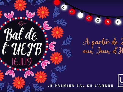 Grand Bal de l'UEJB - La Bohème