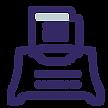icône d'une machine à écrire