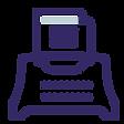 icone d'une machine à écrire