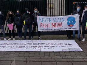 Action de soutien aux Ouïghours - Communiqué de presse