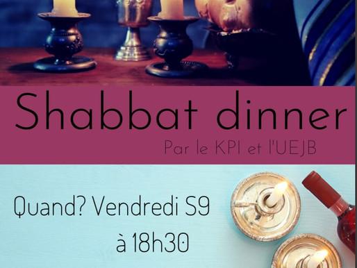 Shabbat dinner du KPI