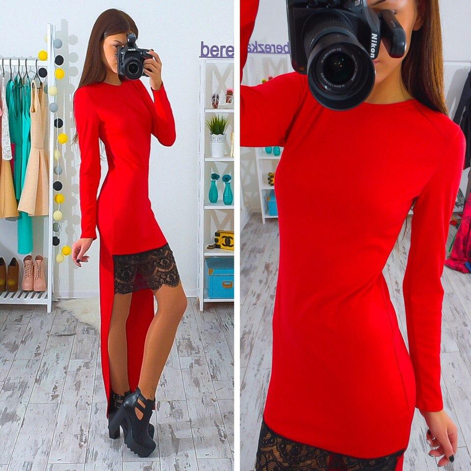 Платье с хвостиком от Berezka shop