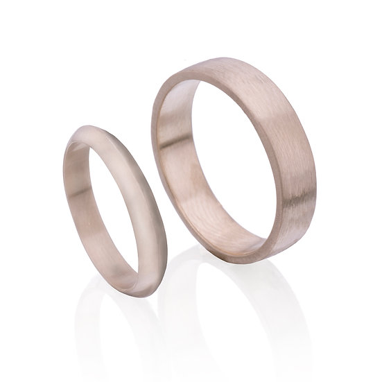 Minimalist Wedding Rings