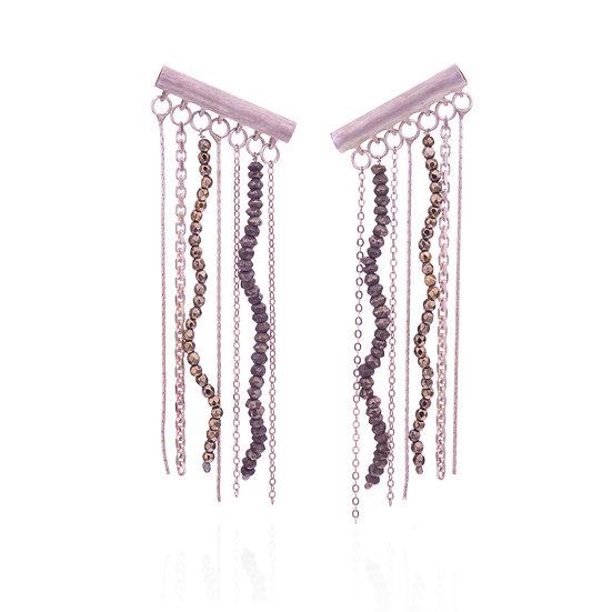 Curly Lines Earrings