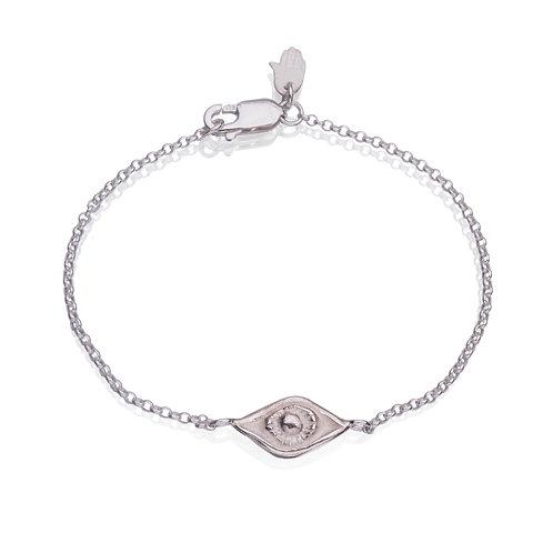 Silver Eye Bracelet