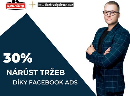"""""""Reklama na Facebooku vystřelila naše tržby o 30 %"""" - Case Study"""